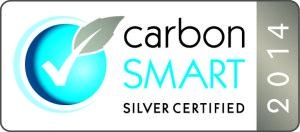Carbon Smart Logo Silver 71014
