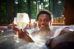 hot tub holiday voucher code