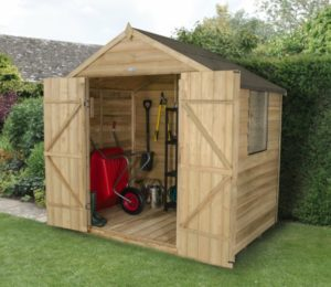 FSC Timber shed, eco friendly shed