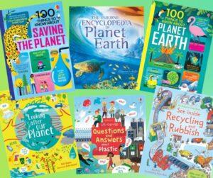 kids eco books, children's eco books, green books for children