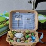 upcycled egg box crafts, egg box sewing kit