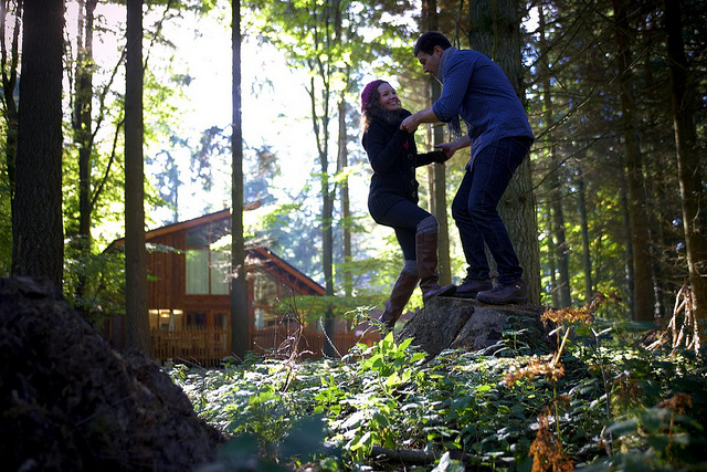 treehouse holidays, eco friendly holidays