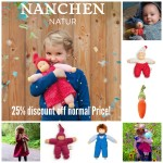 nanchen dolls, eco friendly dolls, eco toys