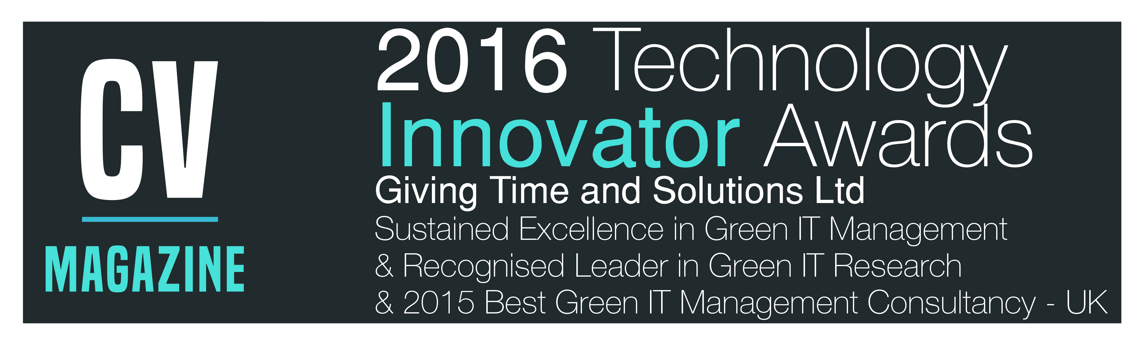 green IT awards