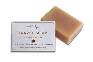 vegan travel soap