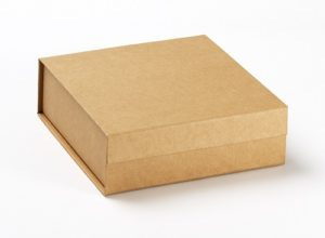 recycled card boxes for natural gifts