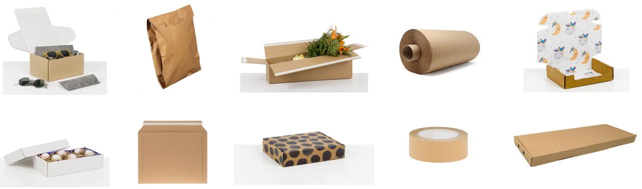 green packaging supplies